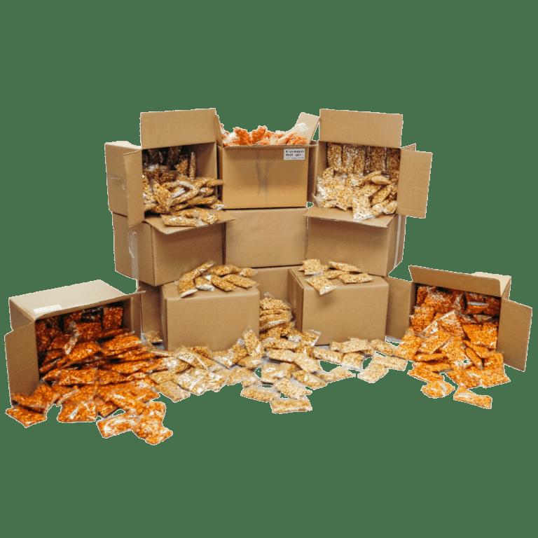 cajas de maicitos de sabores