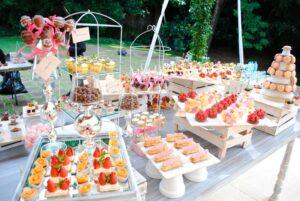 mesa de botanas para fiestas
