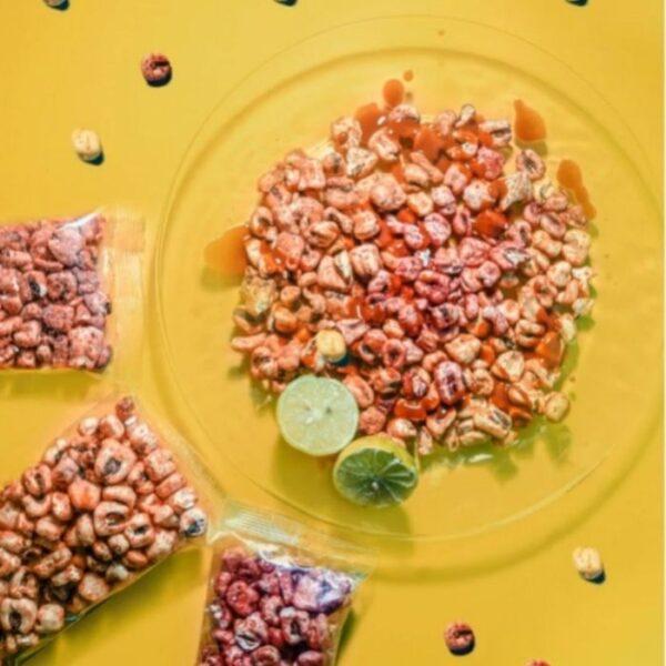 maiz inflado preparado